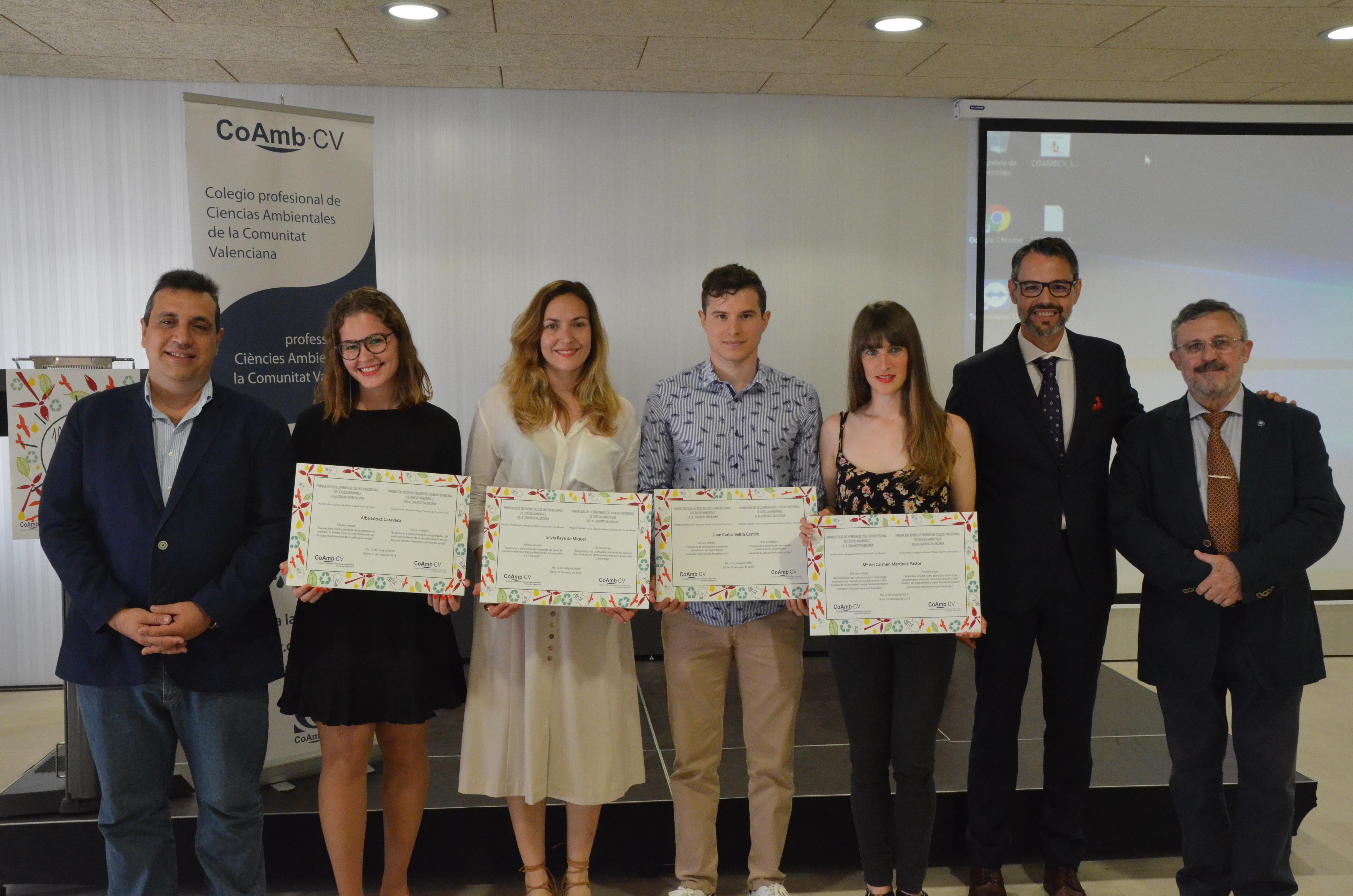 Primera Edición Premios Colegio Profesional de Ambientólogos de la Comunidad Valenciana
